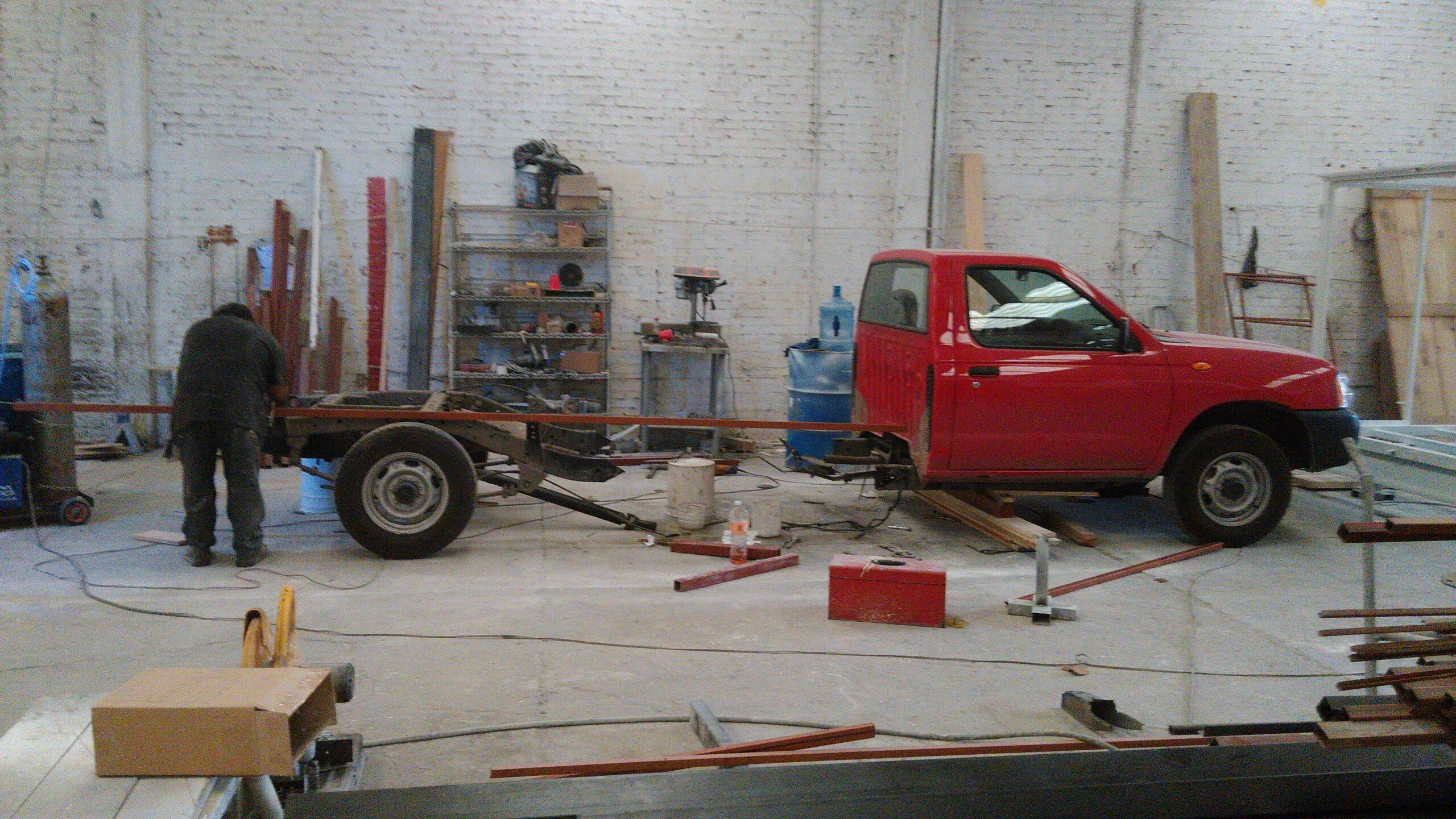 Alargamiento Acorazado de Chasis www.carrocerias.org.mx